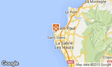 Karte Saint Gilles Ferienunterkunft auf dem Land 80682