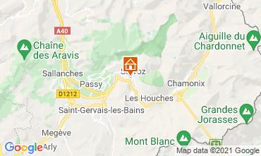 Karte Chamonix Mont-Blanc Studio 93266