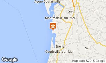Karte Granville Mobil-Home 10724