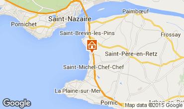 Karte Saint Brevin les Pins Mobil-Home 95305