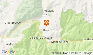 Karte Alpe d'Huez Appartement 107207