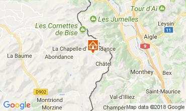 Karte La Chapelle d'Abondance Chalet 61959