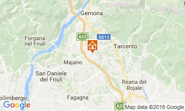 Karte Udine Haus 84288