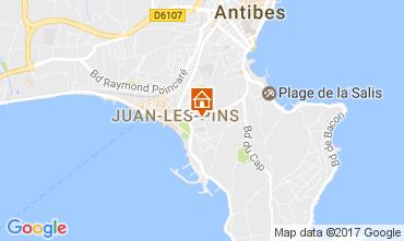 Karte Juan les Pins Appartement 109376