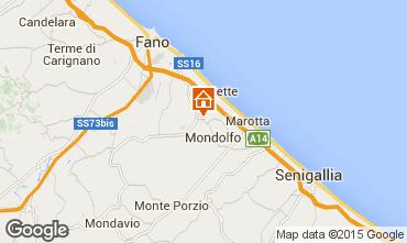 Karte Pesaro Appartement 67543