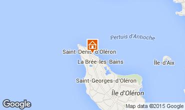 Karte Saint Denis d'Ol�ron Villa 74637