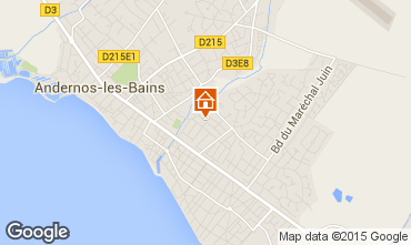 Karte Andernos les Bains Haus 41686