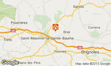 Karte Saint Maximin la Sainte Baume Au�ergew�hnliches Fremdenzimmer 98252