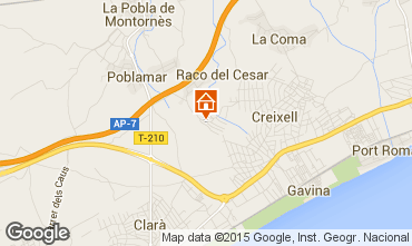 Karte Creixell Villa 76673