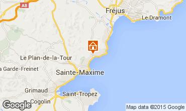 Karte Les Issambres Appartement 80521