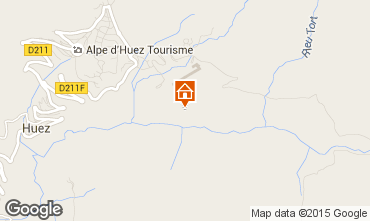 Karte Alpe d'Huez Studio 17370