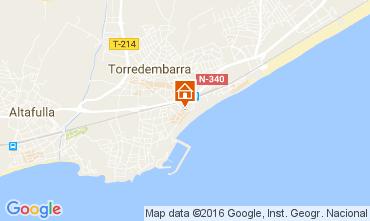 Karte Torredembarra Studio 43383