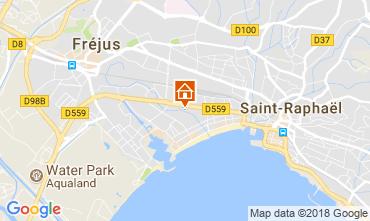 Karte Fréjus Appartement 113928