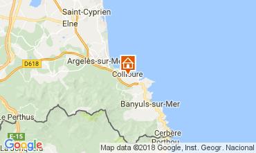 Karte Collioure Appartement 113025