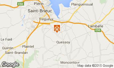 Karte Saint Brieuc Haus 98735