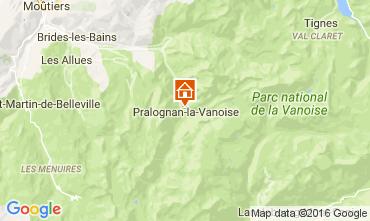 Karte Pralognan la Vanoise Chalet 106385