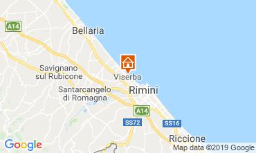 Karte Rimini Appartement 118630