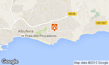 Karte Albufeira Haus 98350