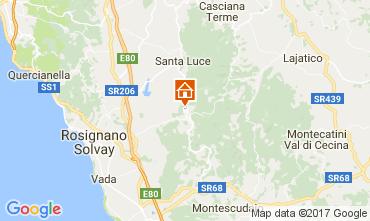 Karte Castellina Marittima Villa 110282