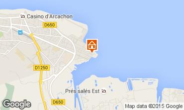 Karte Arcachon Appartement 6626