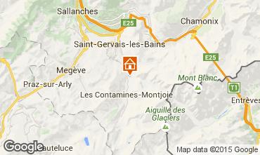Karte Les Contamines Montjoie Chalet 19543