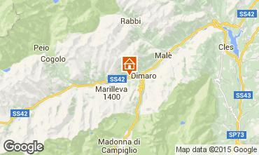 Karte Marilleva Appartement 69024