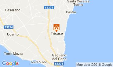 Karte Santa Maria di Leuca Appartement 55406