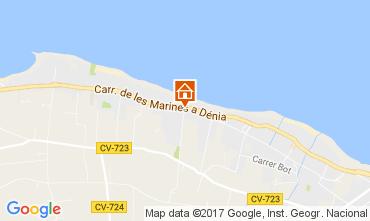 Karte Dénia Bungalow 108044