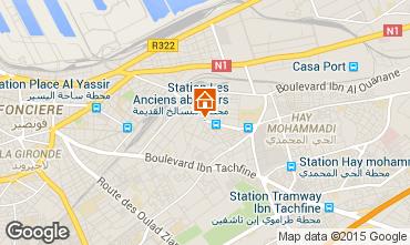 Karte Casablanca Appartement 75111