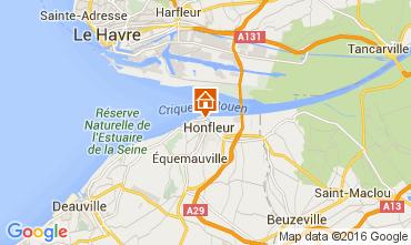 Karte Honfleur Appartement 103646