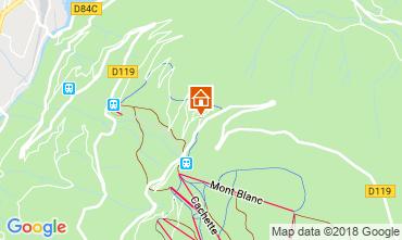 Karte Les Arcs Chalet 117481