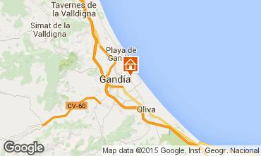 Karte Gandia Appartement 64714