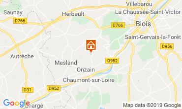 Karte Blois Mobil-Home 117941