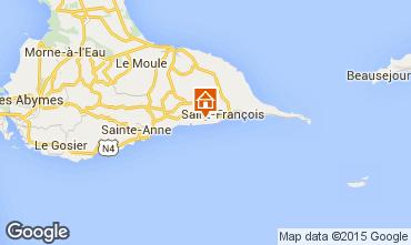 Karte Saint Francois Villa 101259