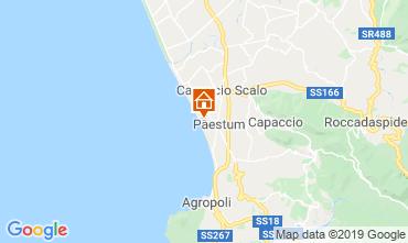 Karte Paestum Appartement 41642