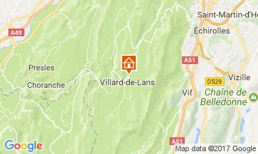 Karte Villard de Lans - Corrençon en Vercors Appartement 112217