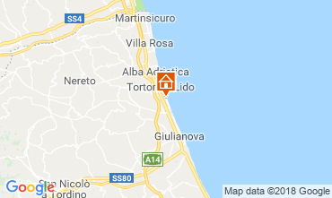 Karte Tortoreto Appartement 94099