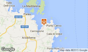 Karte Porto Cervo Appartement 29162