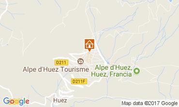 Karte Alpe d'Huez Appartement 112516