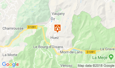 Karte Alpe d'Huez Studio 116847