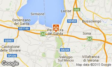 Karte Peschiera del Garda Appartement 99968