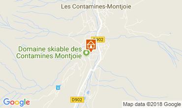 Karte Les Contamines Montjoie Appartement 115234