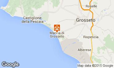 Karte Marina di Grosseto Appartement 91947