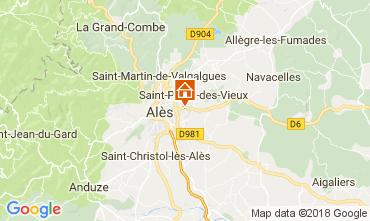 Karte Alès Villa 113334