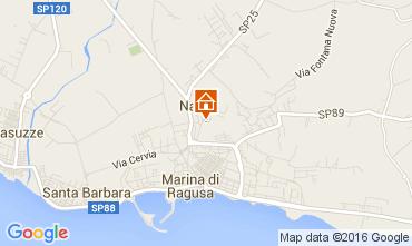 Karte Marina di Ragusa Villa 104486