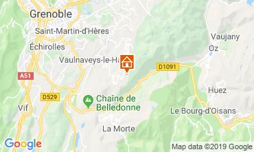 Karte Chamrousse Appartement 28273