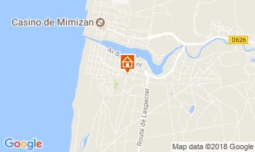 Karte Mimizan Haus 24503