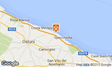 Karte Ostuni Villa 63549