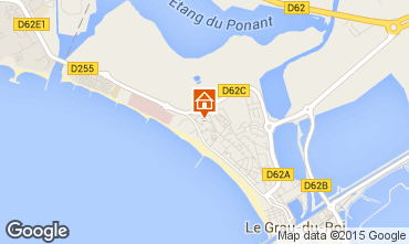 Karte Le Grau du Roi Appartement 72770