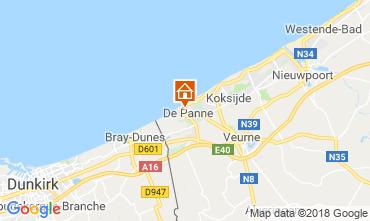 Karte De Panne Villa 116743